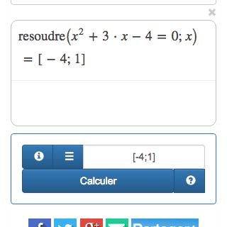 Un calculateur en ligne avec les étapes de calcul