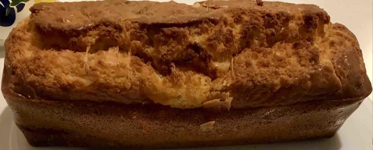 Gâteau Gervipomme sans œufs : Gâteau yaourt à la compote de pomme